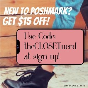 New to Poshmark? Get $15 off!